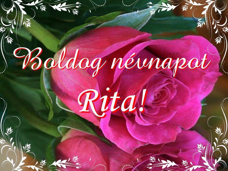 névnapi köszöntő rita Mikor van Rita névnap?   A név jelentése eredete és becézése. névnapi köszöntő rita