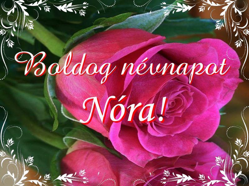 boldog névnapot nóra Mikor van Nóra névnap?   A név jelentése eredete és becézése. boldog névnapot nóra