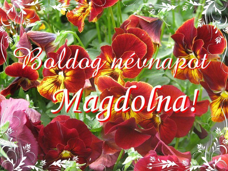 magdolna névnap köszöntő Mikor van Magdolna névnap?   A név jelentése eredete és becézése. magdolna névnap köszöntő