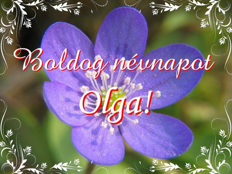 olga névnapi köszöntő Mikor van Olga névnap?   A név jelentése eredete és becézése. olga névnapi köszöntő