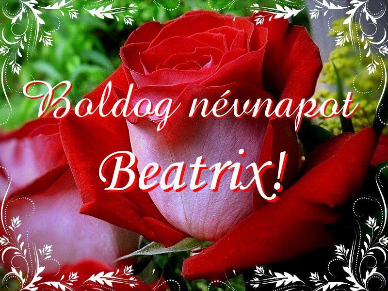 beatrix névnapi köszöntő Mikor van Beatrix névnap?   A név jelentése eredete és becézése. beatrix névnapi köszöntő